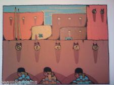 AMADO PENA Ristra y Los Tres 1985 SERI Gallery $2,080