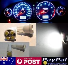 White LED Dash Gauge Light Kit - Suit Mitsubishi Lancer Mirage CE CC CB