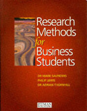 Research Methods for Business Students by Mark N. K. Saunders, Philip Lewis, Ad…