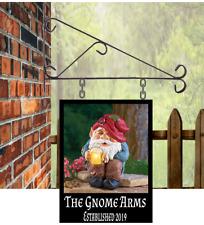 Custom designed Hanging Pub sign 20cmx15cm cm bar,Gnome cave free P&P