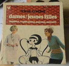 Tricot, crochet. Dames / jeunes filles. Marabout Flash. N° 315. 1970.