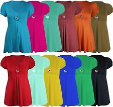 Casual Short/Mini Viscose Dresses Plus Size for Women