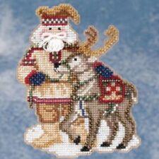Lapland Santa Bead Ornament Kit Mill Hill 2009 Arctic Circle Santas
