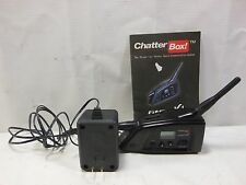 Chatterbox GMRS-X1 Intercom Communicator + Manual & Charger Adapter #U2881