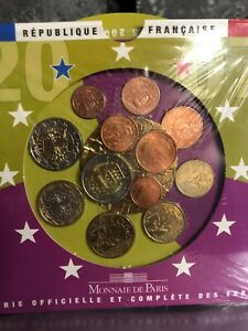 coffret euros BU France 2007 neuf sous blister + 1, 2 et 5 cents et 2€ San Marin
