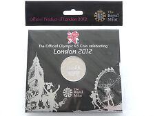 2012 Royal Mint London GIOCHI OLIMPICI BU £ 5 cinque sterlina MEDAGLIA PACK SIGILLATO