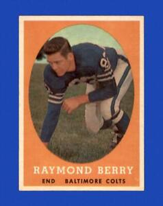1958 Topps Set Break #120 Raymond Berry EX-EXMINT *GMCARDS*