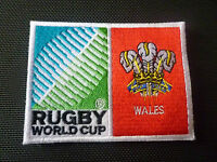 2019 New Rugby World Cup  Badge - Sew on Patch - Wales 10cm x 7.5cm