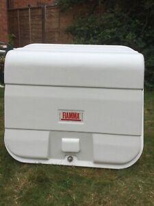 Fiamma Ultra Box 180 Rear Motorhome / Carry Bike Storage Box With Key