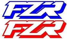 "2x ""FZR""  DECALS-STICKERS-150mm-QUALITY VINYL-INTERNATIONAL SELLER"