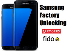 Rogers/Fido Samsung Unlock Code  - Galaxy S7,S6,S5,S4,Edge,Note,Core,Alpha,Neo