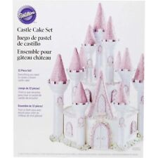 NEW WILTON ROMANTIC CASTLE CAKE SET 301-910