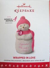 Hallmark 2016 - Susan G Komen -  Wrapped in Love - NEW