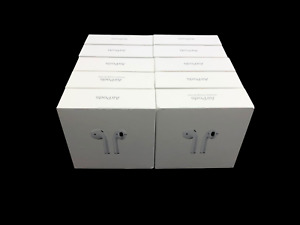 10-LOT Genuine Apple AirPods 2nd Gen EMPTY BOX ONLY Instructions Tray MV7N2AM/A
