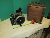 Antique Laboratory  Scientific Microtome Microscope Equipment Bausch and Lomb ms