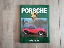 Porsche Vintage Hardcover Book Jacky Ickx Dust Jacket 64 Pages  Englisch