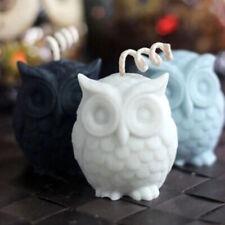 Pour Artisanat Bricolage Cire Moule Hobby 3D Silicone Hibou Oiseau Bougie Savon