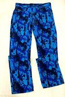 Nike SB Mens Printed Skate  Pant Joggers Trouser Blue Size.M (32)