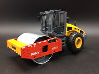 1/35 Scale SANY YZ18C Single Road Roller Compactor Diecast Car Collection