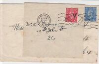 great britain 1945 london cancel bells cancel mark stamps cover ref 21388