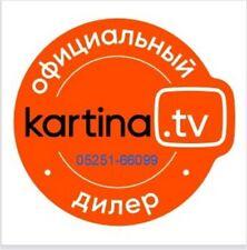 Russ TV -Kartina TV (Premium ) - Abo für 12 Monate 1 Jahr Russische +