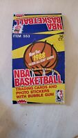 1988-89 Fleer Basketball Empty Display Box  - Excellent Condition - Ships Flat