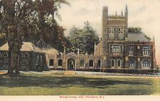 PRINCETON NEW JERSEY MURRAY DODGE HALL~RELIGIOUS LIFE BUILDING POSTCARD 1910s