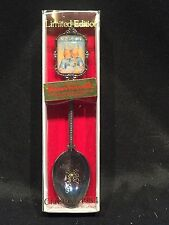 Hummel Christmas 1984 Silver plate Collectors Spoon W. Germany Limited Edition
