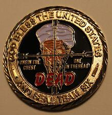 Osama Bin Laden Seal Team Six / 6 September 9-11 Navy Military Challenge Coin rd