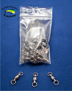 Ball Bearing Fishing Swivels Solid Ring - #1 #2 #3 #4 #5 #6 #7 #8 #9