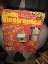 INDIA RARE & OLD - RADIO & ELECTRONICS   MAGAZINES  - 2 IN 1 LOT  IN ENGLISH