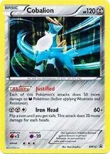 COBALION Holo Pokemon Card Black Star Promo Rare Card BW72