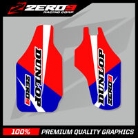 HONDA CR CRF 125 250 450 LOWER FORK DECAL MOTOCROSS GRAPHICS MX FACTORY 15 BLUE