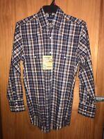 WRANGLER Men's Cowboy Cut Work Western Pearl Snap Long Sleeve Shirt MS1054M NWT