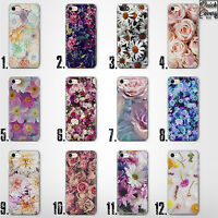 FLOWER ROSE THIN UV CASE COVER FOR IPHONE