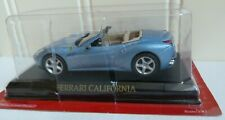 DIECAST 1:43 SCALE FERRARI CALIFORNIA CABRIOLET  LIGHT BLUE METALLIC