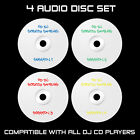 CD DJ SCRATCH SAMPLES - 4 AUDIO DISC SET : CDJ : SERATO : REKORDBOX : TRAKTOR