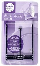 Bowl Display Stand : Black Plastic : Multi Stand Short Arm Adjustable Angle