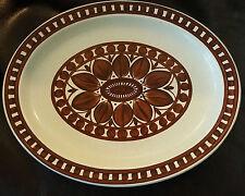 Midwinter Stonehenge Dahlia Platter - 35cm by  28cm