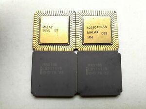 Vintage Intel R80186 16-BIT High-Integration CPU iAPX86 x 1pc