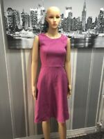 Womens Closet Purple Knee Length Size 8 Dress New Without Tags