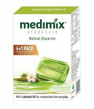 Medimix Ayurvedic Glycerine Soap, 125g x 5 (Pack of 5 Soap)