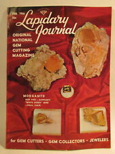 Lapidary Journal Magazine 1966 February Morganite Crystals from White Queen M.
