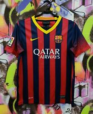 Barcelona Barça Spain Football Shirt Soccer Jersey Top Nike Youth L 12-13 Years