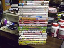 (21) Childrens Educational DVD Lot: Disney Baby Einstein Calliou Leap Frog  MORE