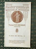 Van Der Kelen Instituto Superior de Pintura Catálogo Comercial