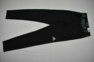 adidas Compression Pants Men's Black Poly NEW Multiple Sizes