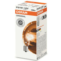 10 x OSRAM P21W REVERSE INDICATOR FOG LIGHT CAR BULBS 382 12V 21W ORIGINAL PARTS