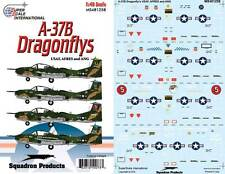 A-37 B Dragonfly: USAF, AFRES and ANG (1/48 decals, Superscale 481258)