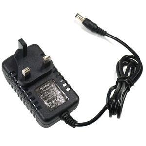 12V 12.0V 1.5A 1500mA MAX 100-240V 50-60Hz AC-DC Adaptor Power Supply Mains UK